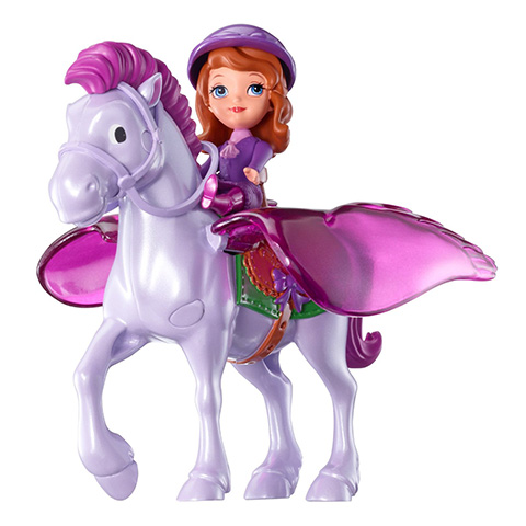 Набор Y6651 игровой София и Минимус SOFIA THE FIRST