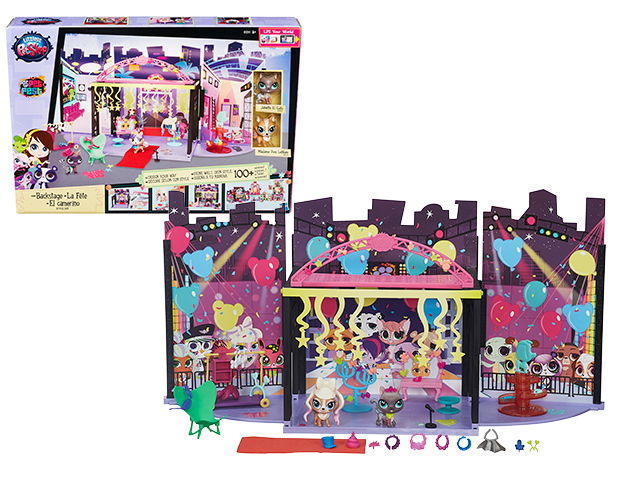 Набор B1241 игровой За кулисами LITTLEST PET SHOP